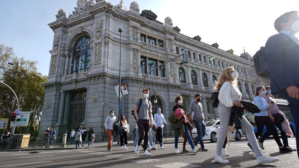 Una imagen del Banco de España.