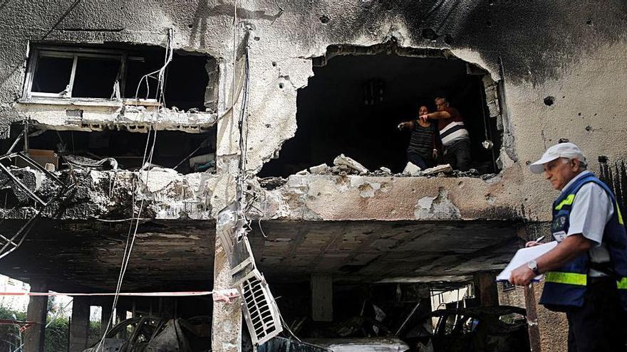 """Un español en medio del conflicto en Israel: """"Dormí en un búnker en Tel Aviv"""""""