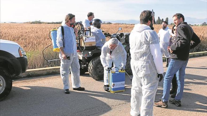 Generalitat solo pone tres vehículos contra los mosquitos en la provincia