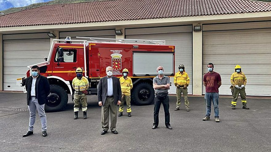 El Cabildo incorpora un vehículo autobomba a la lucha contra incendios