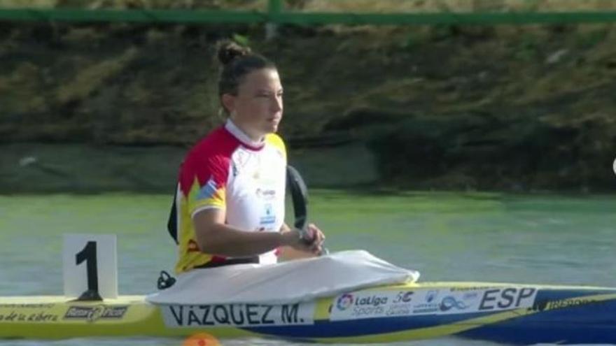 Mireia Vázquez, octava en su semifinal de K1 200