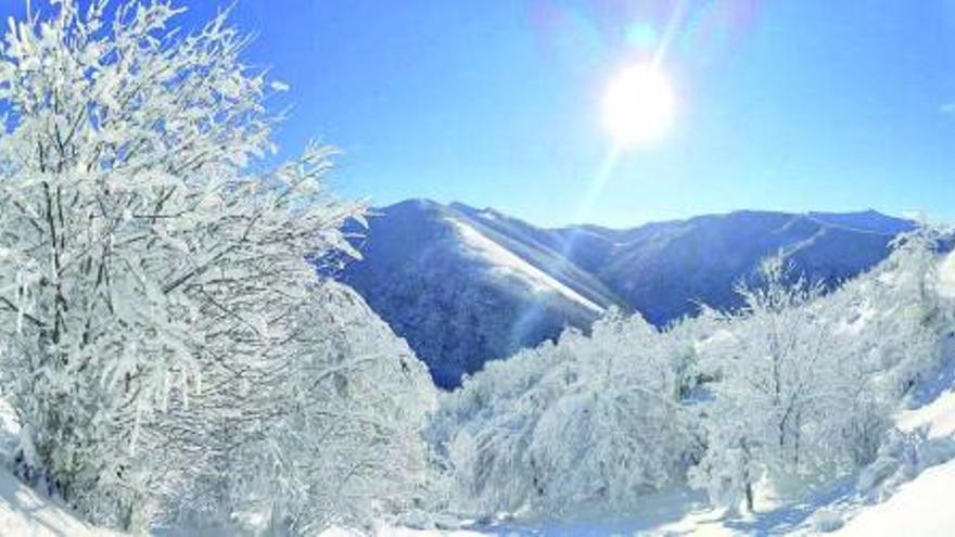 Galicia alcanza los 13 grados bajo cero
