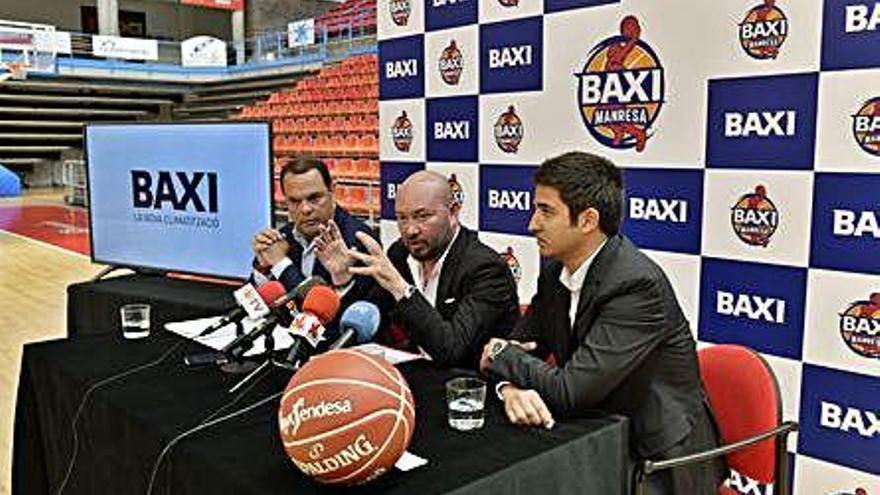 El Baxi seguirà sent l'espònsor principal del primer equip del Bàsquet Manresa