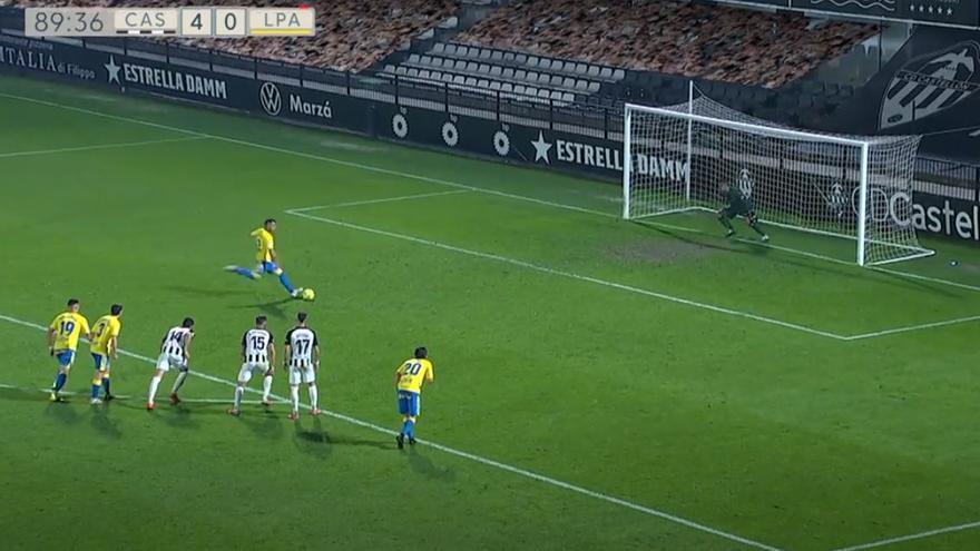 Vídeos de los goles y resumen del partido CD Castellón 4 - 0 UD Las Palmas