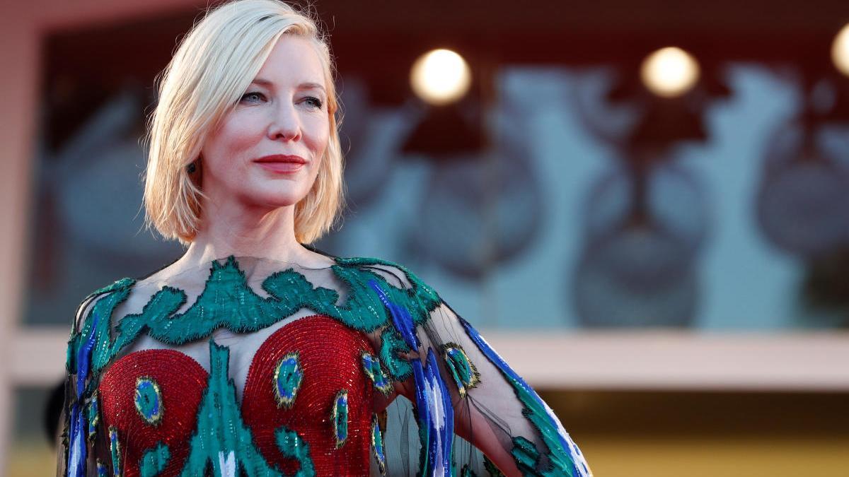 Cate Blanchett en la ceremonia de cierre del festival.