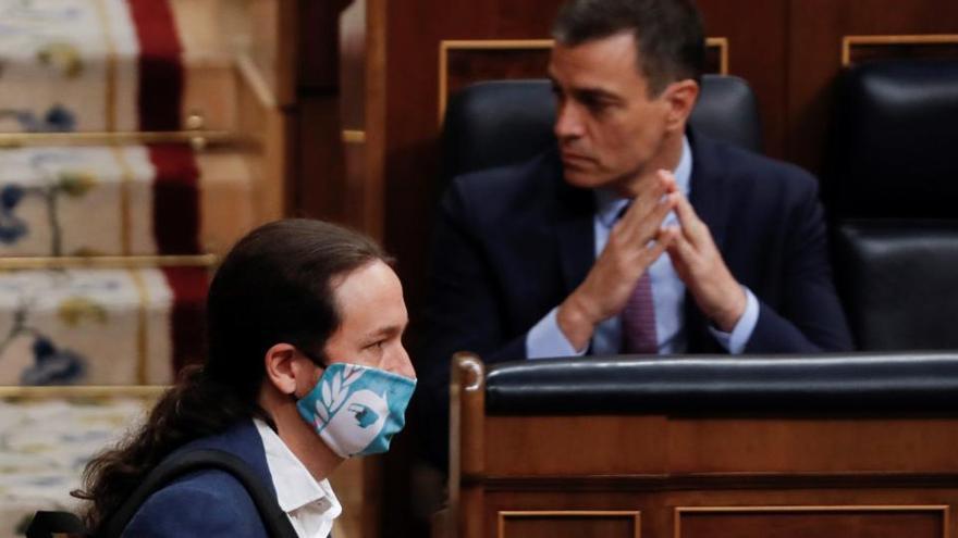 PSOE y Unidas Podemos se reúnen el  jueves para valorar el desarrollo de la coalición
