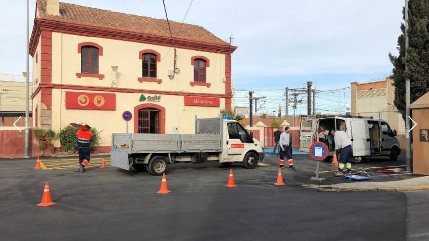 La estación de tren de Almassora incorporará siete cámaras de vigilancia