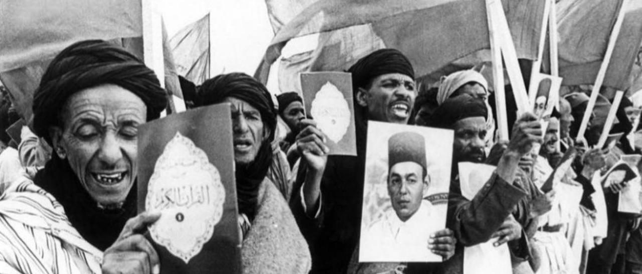 Sáhara: Una guerra del blanco y negro al color.