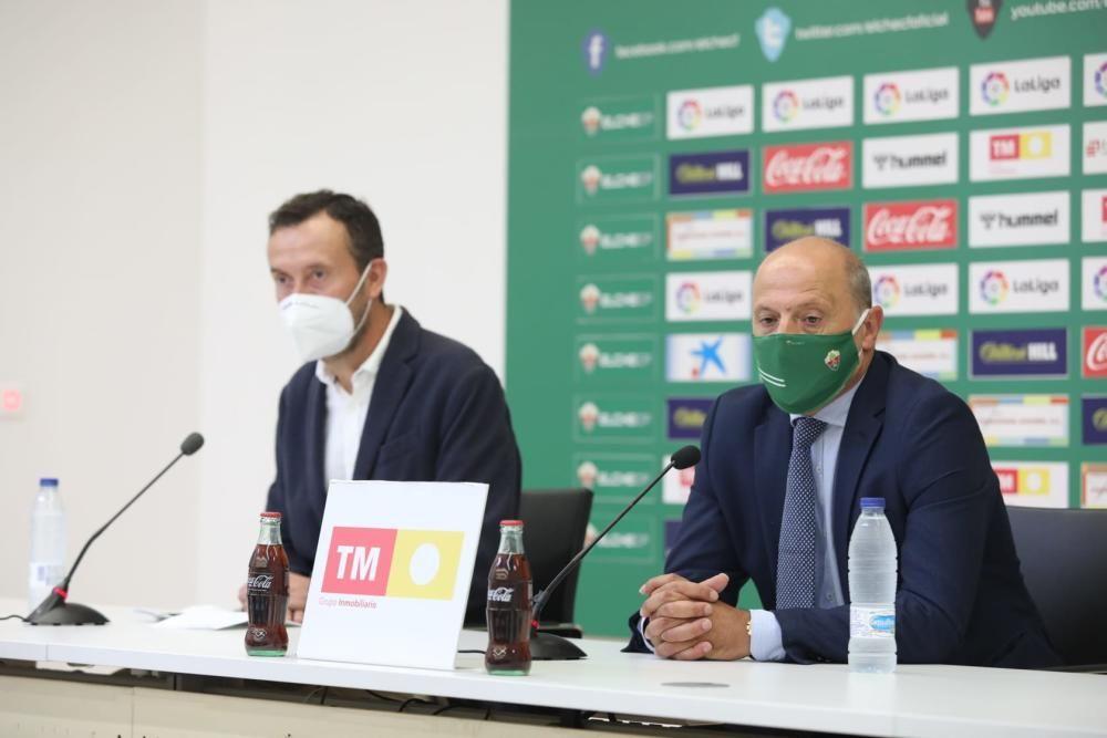 El Elche CF celebra el acto institucional de ascenso a Primera División