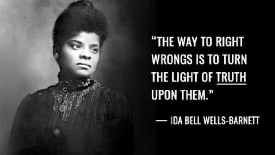 Ida Bell Wells-Barnett: Se adelantó 71 años a Rosa Parks