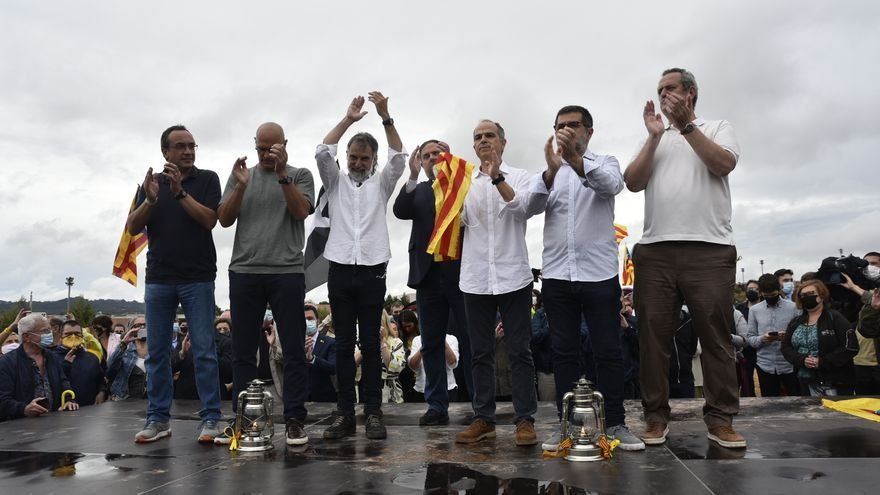 Els presos del Procés surten lliures després d'haver passat més de 1.200 dies a la presó