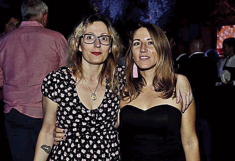 La coordinadona de la sección Sociedad y Cultura de este diario, Elena Vallés, y la crítica de arte, Aina Ferrero-Horrach.