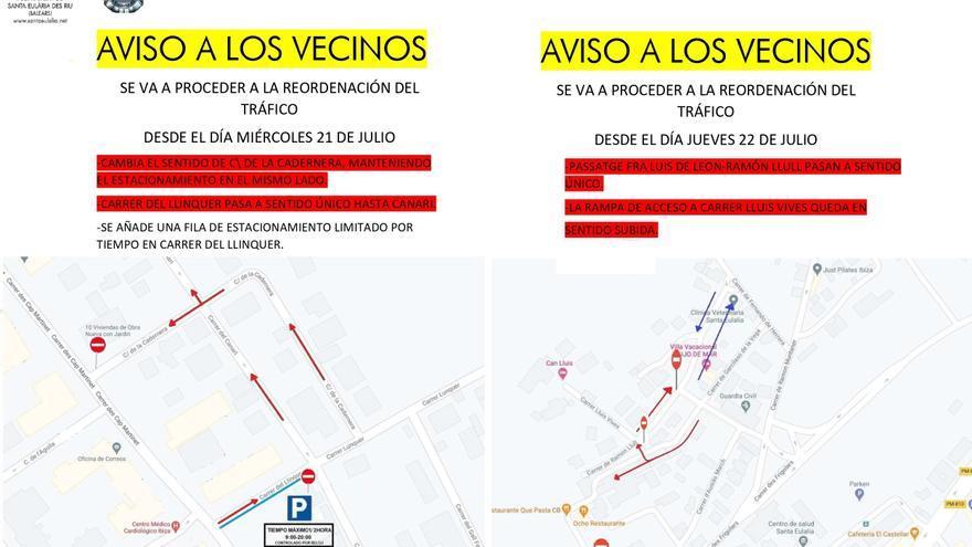 Reordenamientos de tráfico en Jesús para descongestionar y agilizar el acceso al municipio