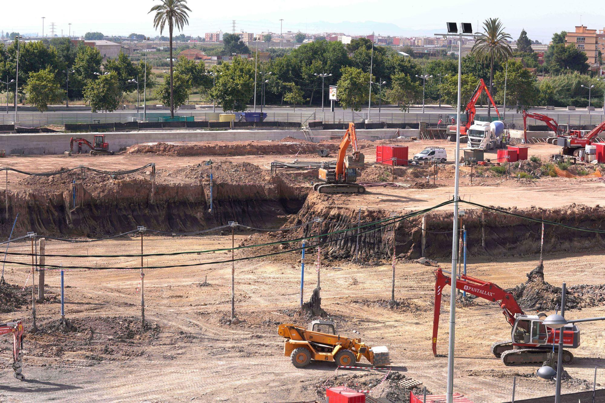 Obras del Casal Arena España de València