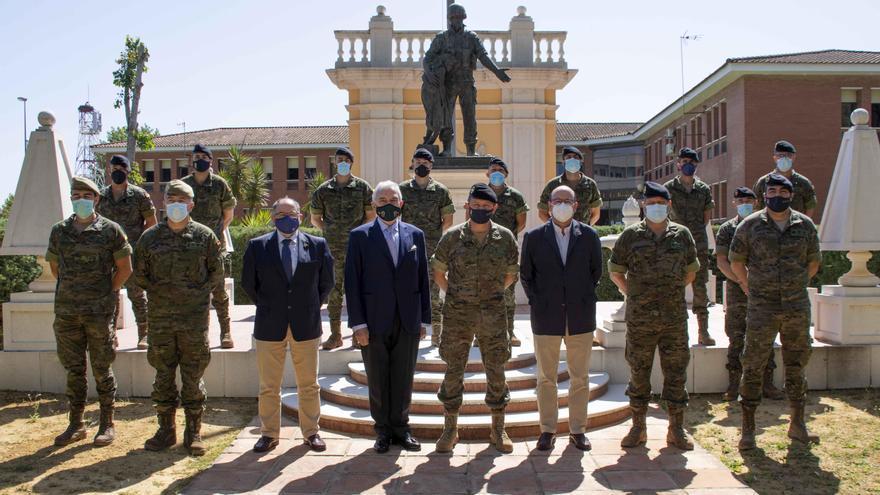 Clausura de los cursos fitosanitarios en la base militar de Cerro Muriano
