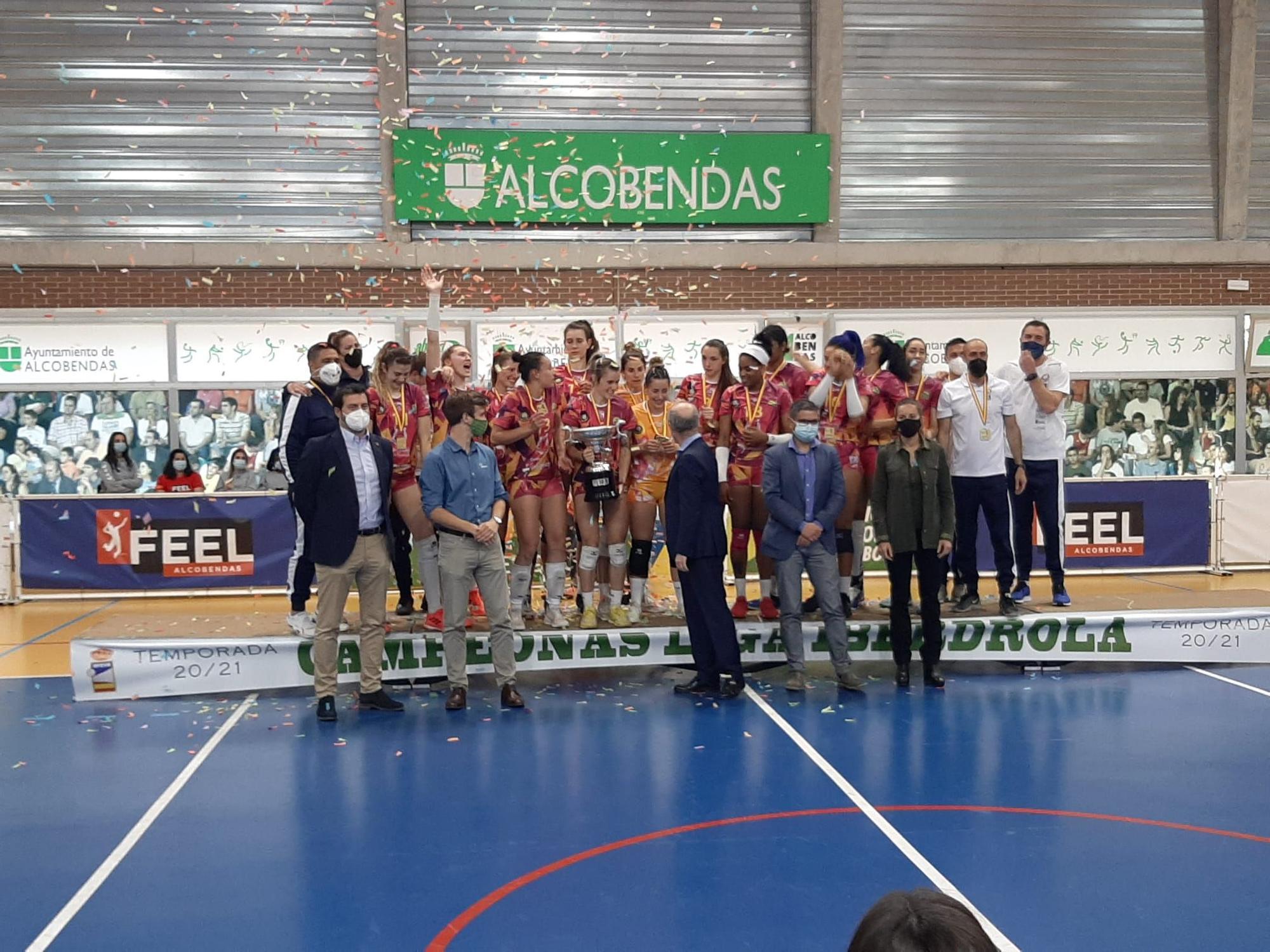 El CCO 7 Palmas, campeón de la Liga Iberdrola (18/04/2021)