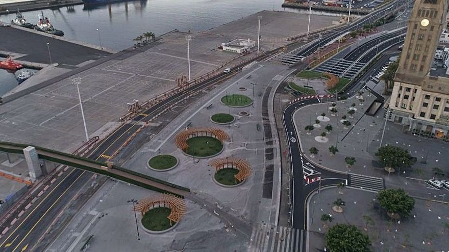 Puertos desconoce la solicitud para un 'parking'