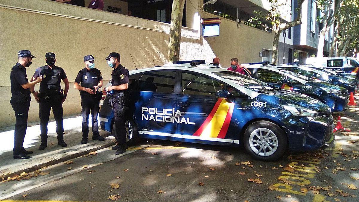 El sospechoso de la violación fue detenido por una patrulla de la Policía Nacional.