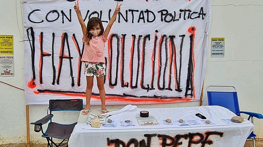 Continúan las protestas de los vecinos de los Don Pepe