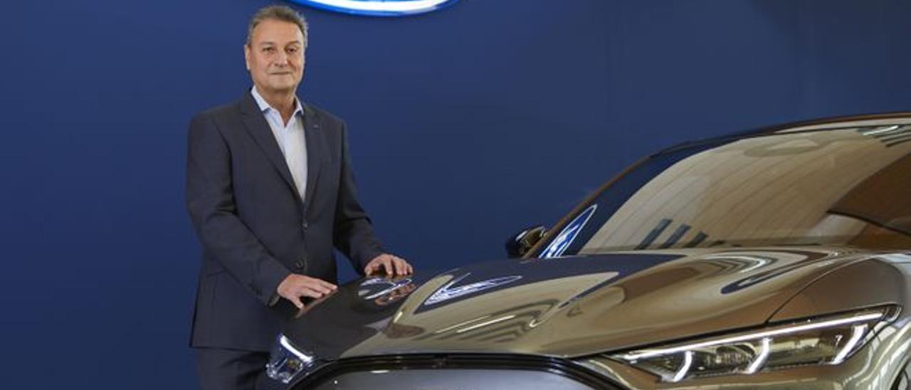 El presidente de Ford España, Jesús Alonso.