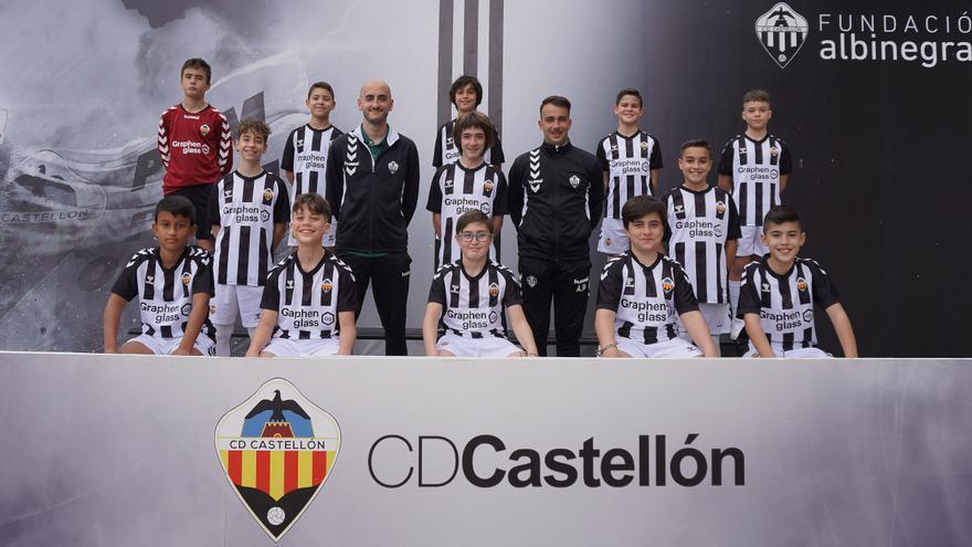'Albinegros de cuna', todas las fotos de la cantera del CD Castellón