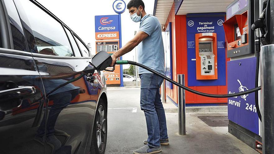 La gasolina més cara des del 2013
