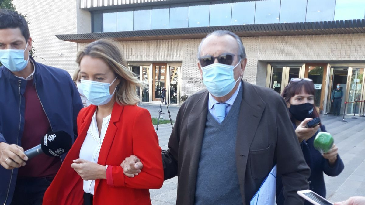 Archivo - Imagen de archivo de Carlos Fabra a la salida de los juzgados