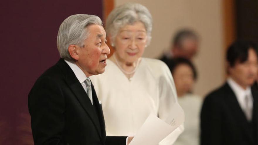 """Akihito se siente """"afortunado"""" por haber ejercido como emperador"""