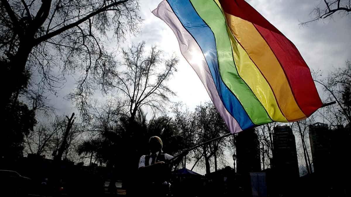 Celebración del Día Internacional del Orgullo LGTBI en Santiago de Chile, en una imagen de archvo.