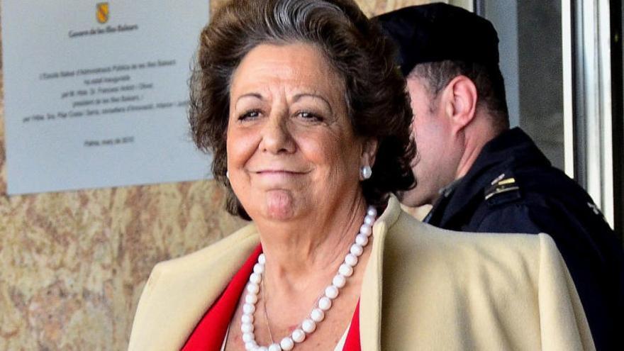 El Ayuntamiento de Valencia invertirá 15.600 euros en un retrato de Rita Barberá
