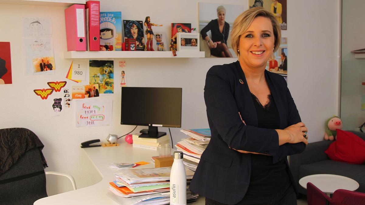 La presidenta de la Asociación de Usuarios Financieros (ASUFIN), Patricia Suárez.