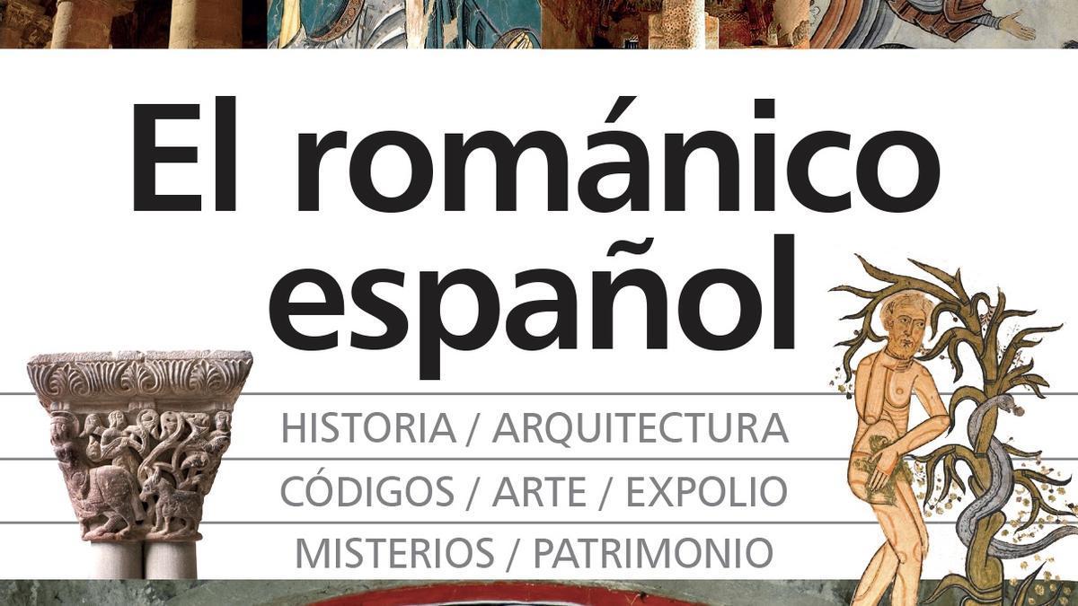 """El románico español"", cubierta."
