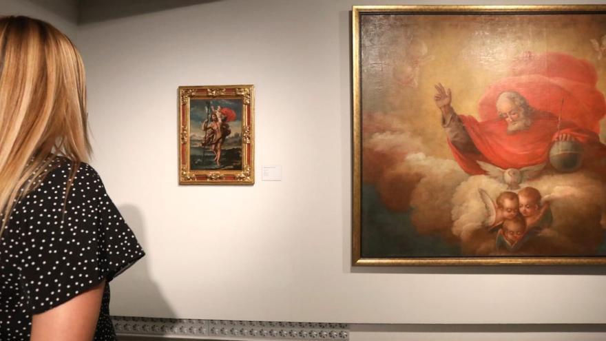 Una exposición muestra en Zaragoza cuatro 'goyas' inéditos de su época de juventud