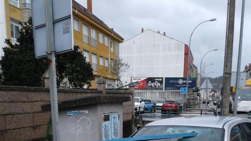 'Cecilia' azota Galicia: vientos de 120 km/h, rayos y granizo