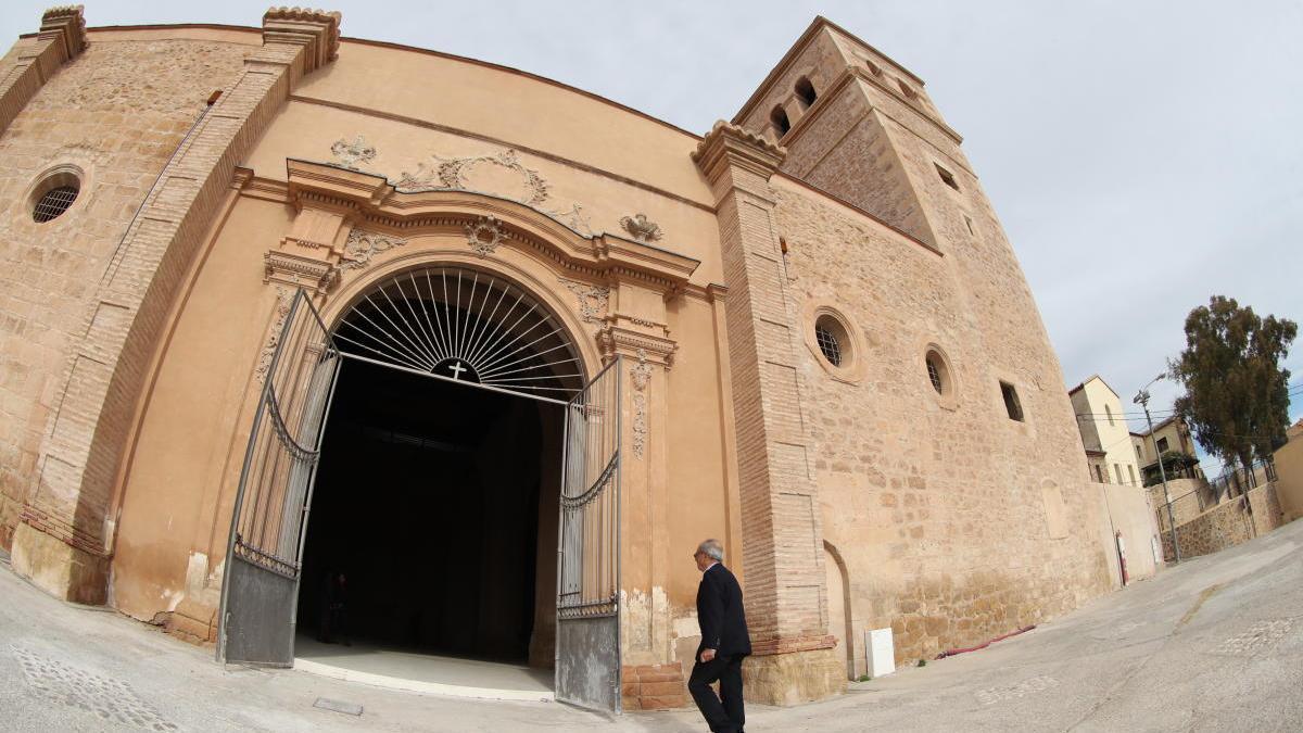 Iglesia de Santa María de Lorca.