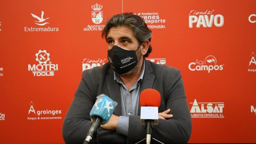 Juan García quiere despedirse de la afición del Don Benito con una victoria