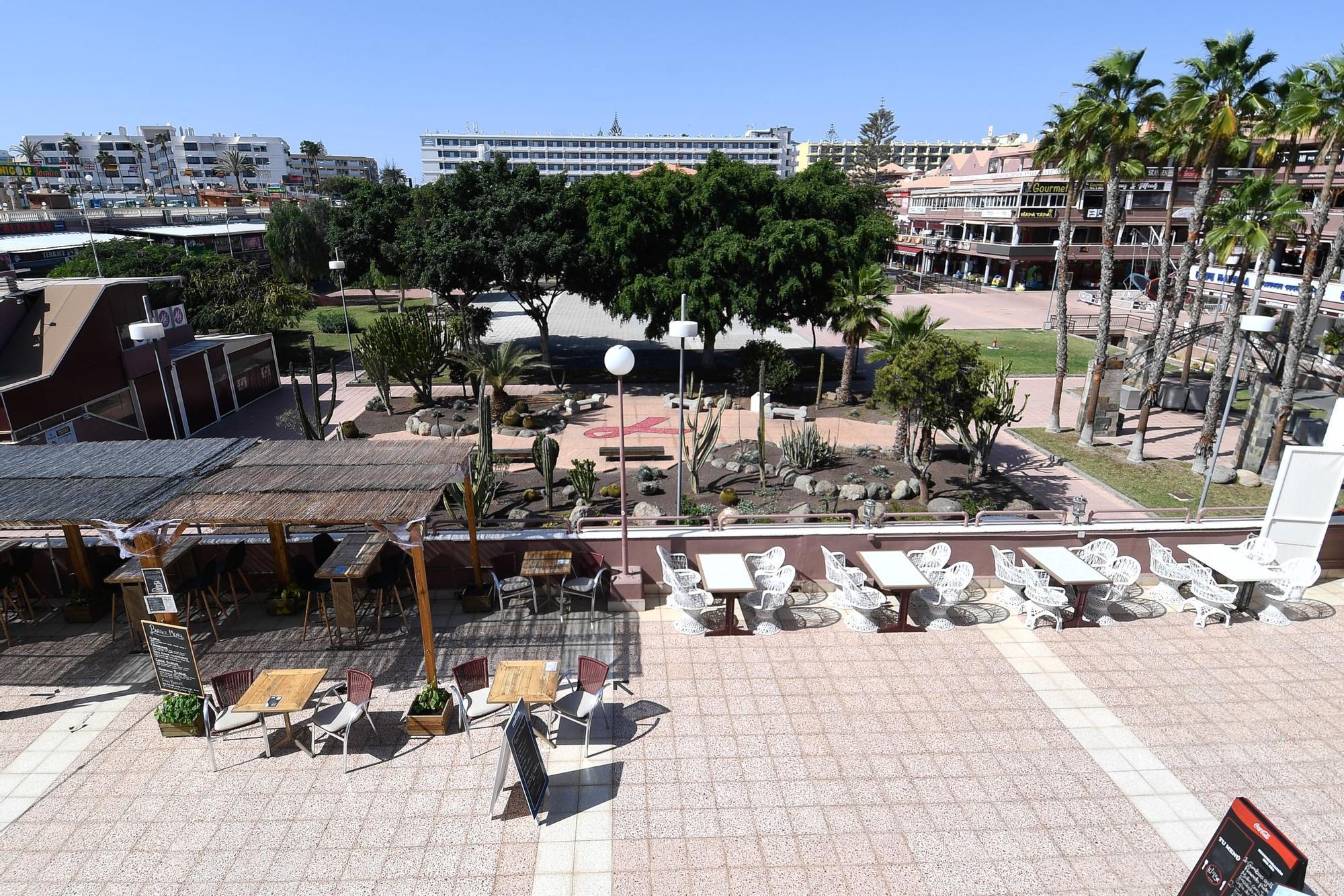 Playa del Inglés no termina de carburar