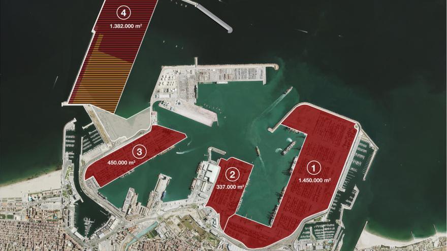 MSC presenta la única oferta para gestionar la nueva terminal de contenedores del Puerto de València