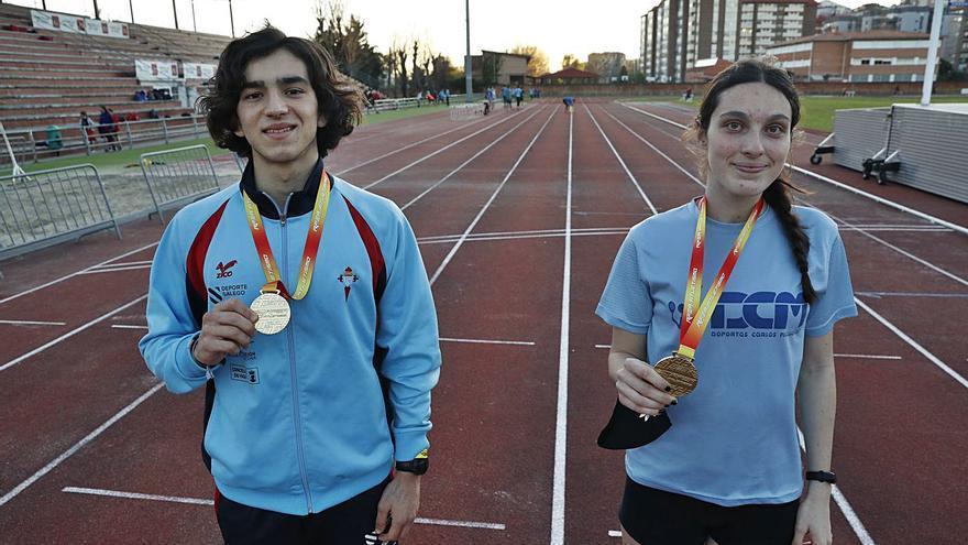 Promesas de oro del atletismo de la comarca