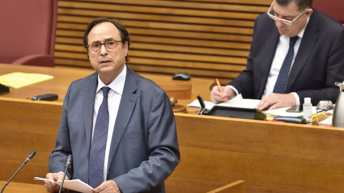 The Minister of Finance, Vicent Soler.