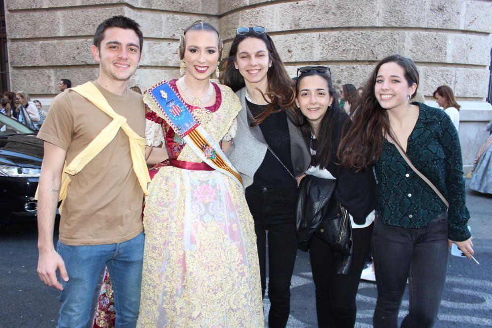 Marta Alacreu, con amigos.