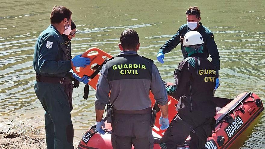 El cuerpo aparecido en Ricobayo, el de un varón de 51 años