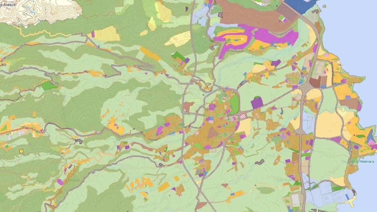 Canarias actualiza la base de datos geográfica de planeamiento de Grafcan