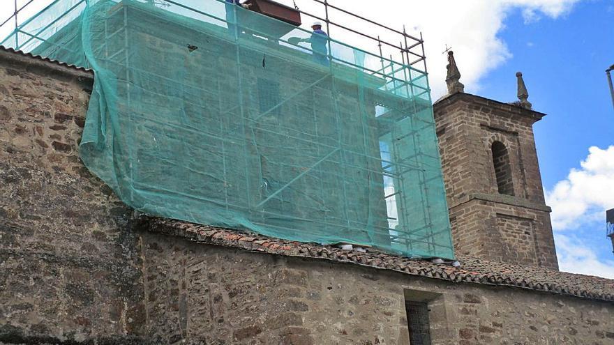 El Santuario de la Carballeda remodela parte de su estructura
