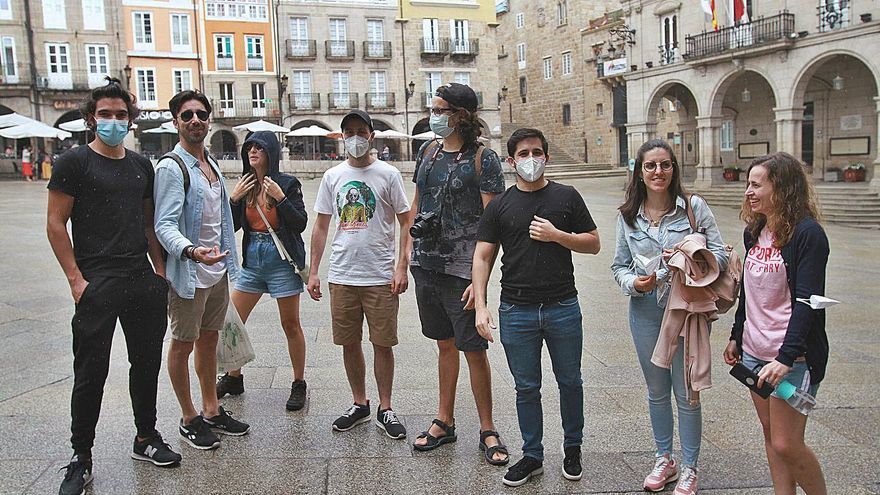 """Ourense, la alternativa: """"Íbamos a hacer surf a Baiona pero llovía y vinimos aquí"""""""