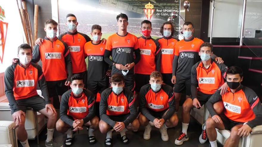 El mensaje de ánimo del primer equipo del Sporting a Fernando Somolinos