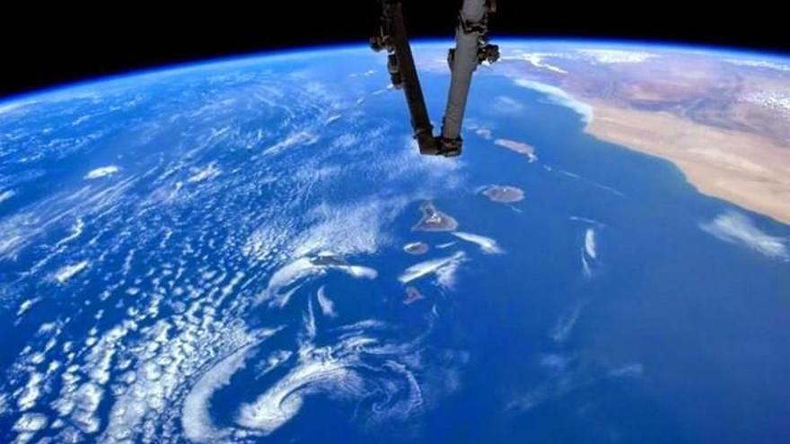 Canarias, protagonista en la Estación Espacial Internacional