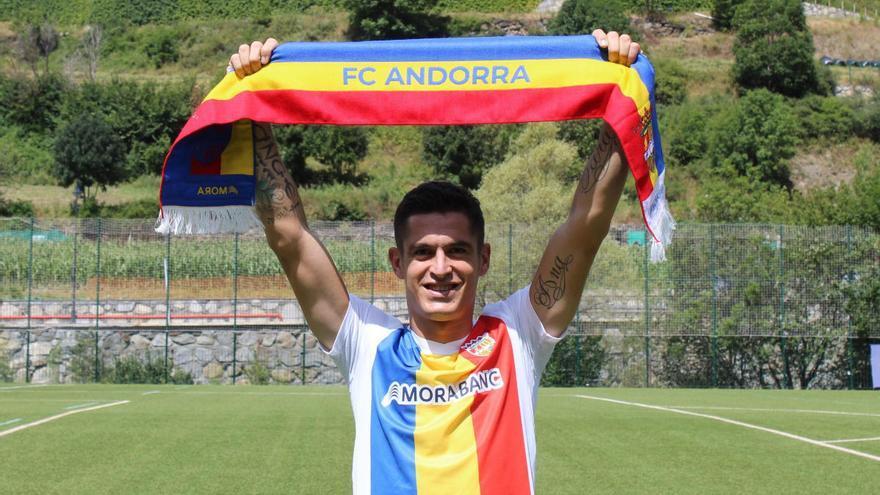 Marc Pedraza ficha por el Andorra de Piqué