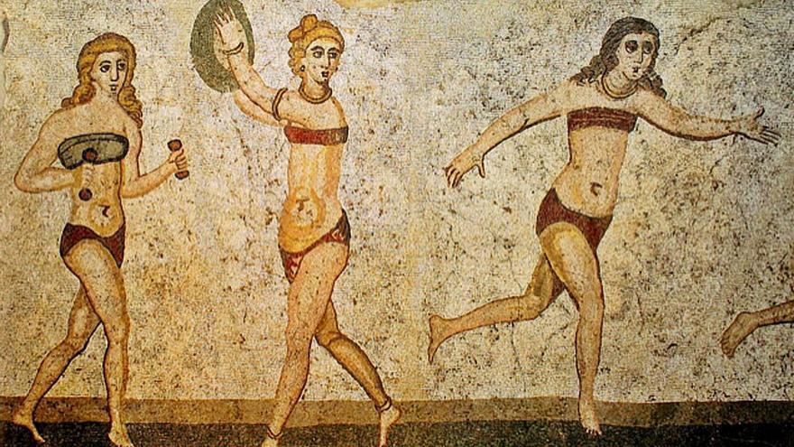 El bikini tuvo su origen en la antigua Grecia