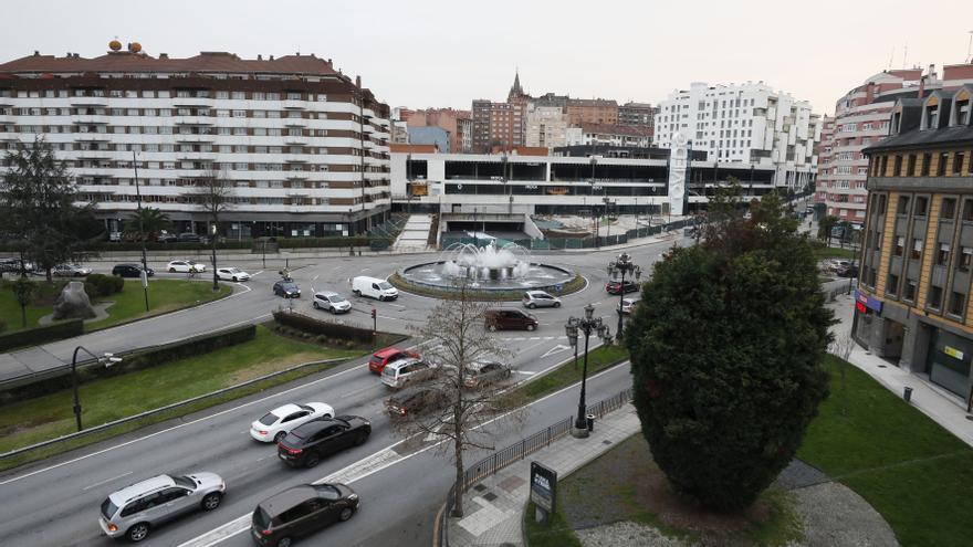 Cuenta atrás para el nuevo plan de Oviedo para Santullano: Las obras empezarán este año en la glorieta de la Cruz Roja